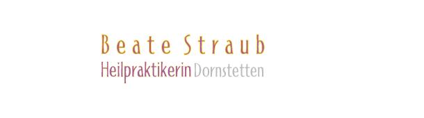 Beate Straub - zurück zur Startsteite